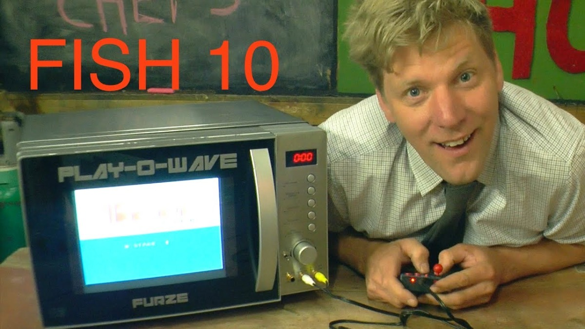Because it's Friday: Games Console Microwave – FURZE'S INVENTION SHOW