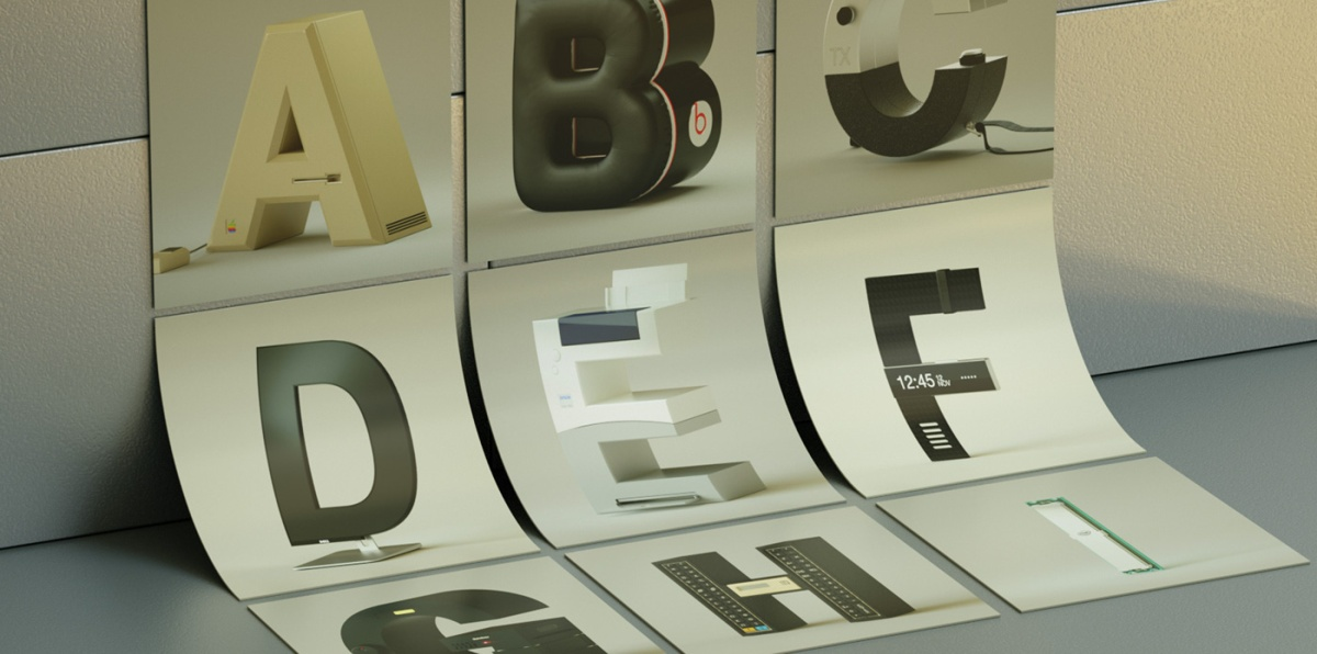Because it's Friday: An Alphabet of Brands