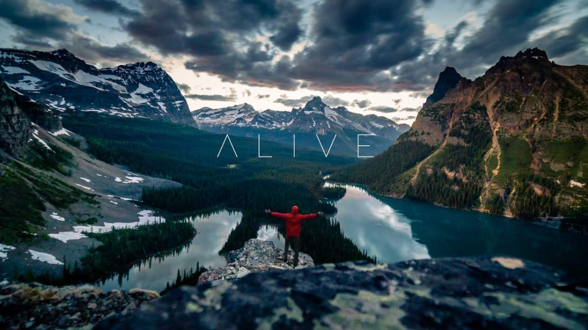 """Because it's Friday: """"ALIVE   Canada 4K"""" by FloNick"""