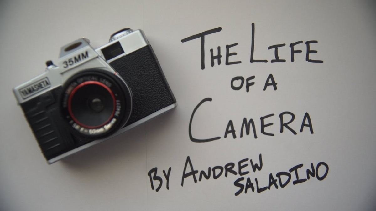 "Because it's Friday: ""The Life of a Camera"" by Andrew Saladino"