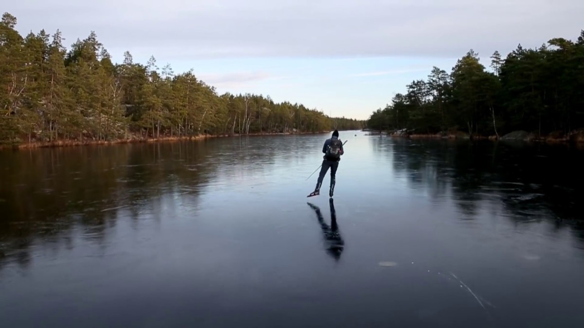"Because it's Friday: ""The Sound of Ice"" by Henrik Trygg  – What it's really like to skate on thin ice!"