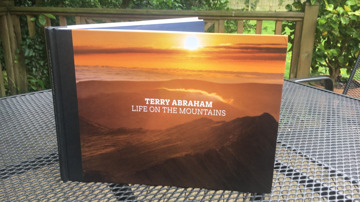 "I'm reading… ""Life on the Mountains"" by Terry Abraham"