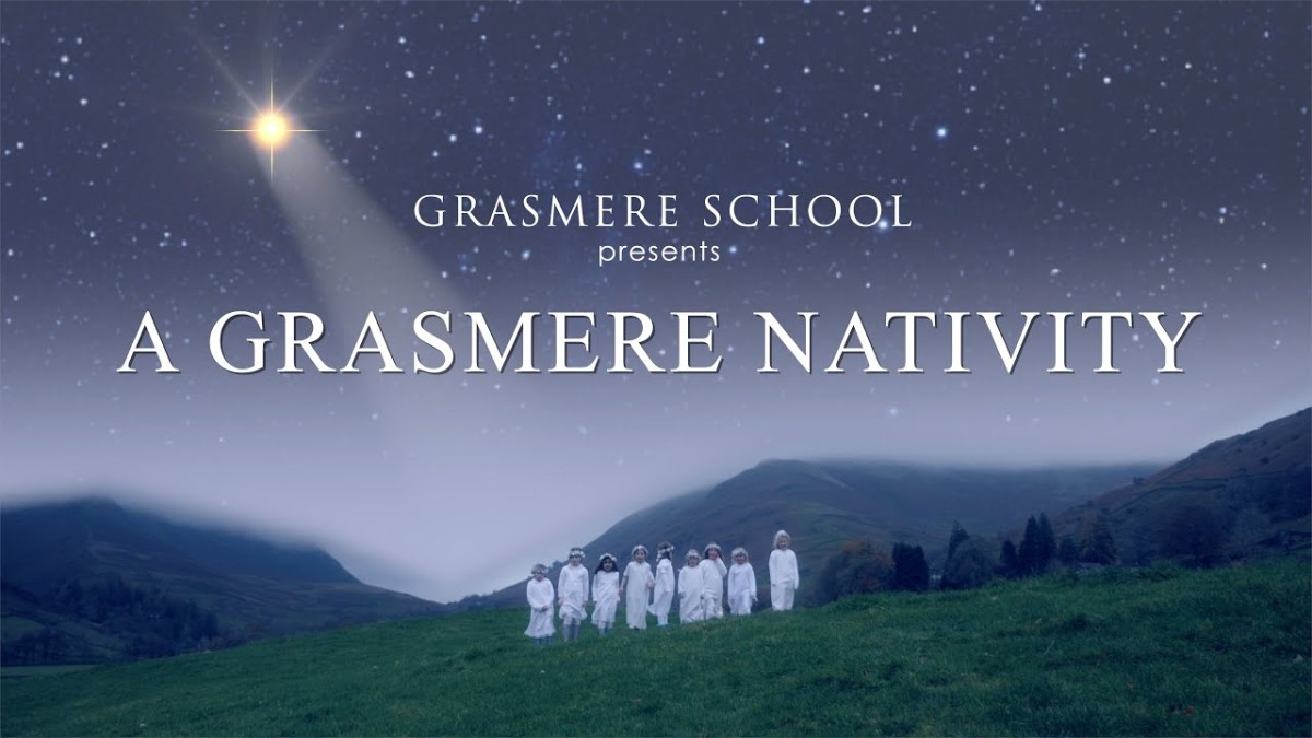 Because it's Friday: The Grasmere Nativity